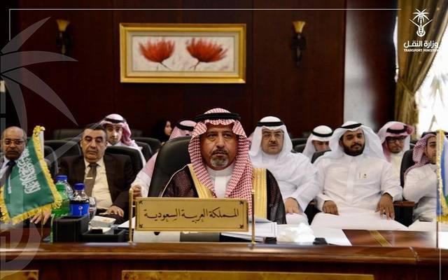 خلال مشاركة وزارة النقل السعودية باجتماع مجلس وزراء النقل العرب في الجامعة العربية بمصر