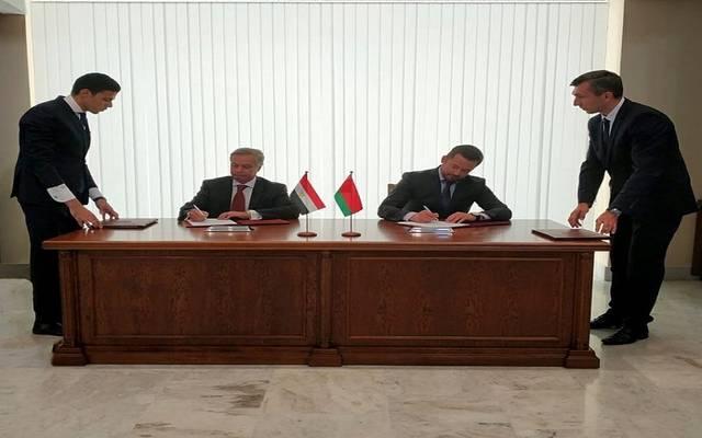 توقيع عدد من الاتفاقيات المشتركة خلال اجتماع اللجنة المشتركة السادسة بين مصر وبيلاروسيا