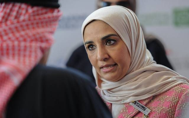 مريم العقيل وزيرة الشؤون الاجتماعية ووزيرة الدولة للشؤون الاقتصادية الكويتية