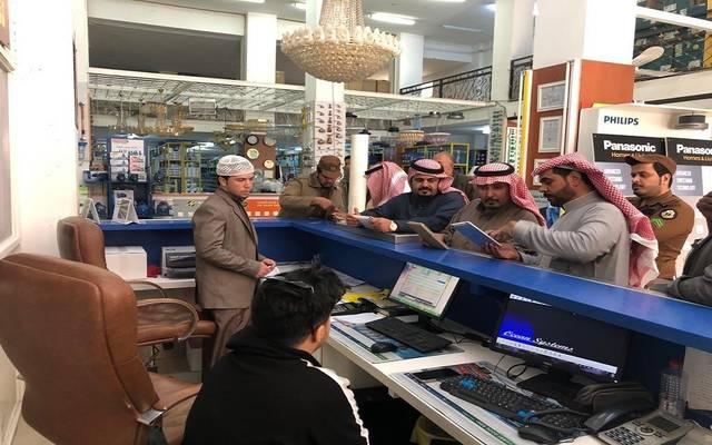عمليات تفتيش رقابية لوزارة العمل السعودية على محلات لمتابعة قرار التوطين