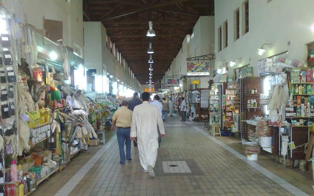 داخل أحد الأسواق التجارية الشهيرة في الكويت