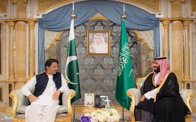 الأمير محمد بن سلمان ورئيس وزراء باكستان في لقاء سابق