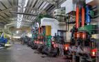 خطوط الإنتاج داخل شركة الجزيرة للمنتجات الحديدية