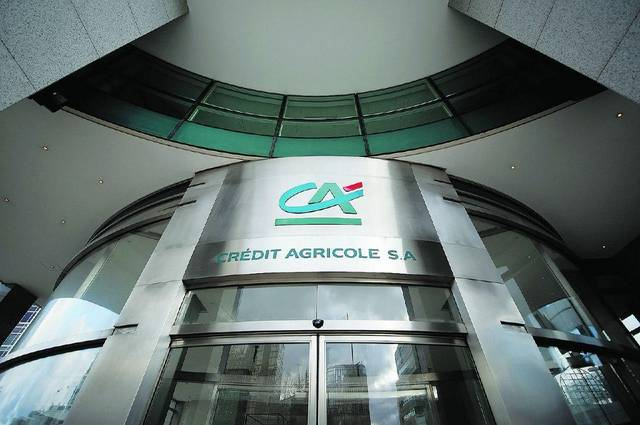 Credit Agricole is still developing SMEs portfolio and getting some resources