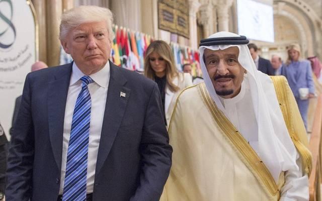 الملك سلمان والرئيس دونالد ترامب