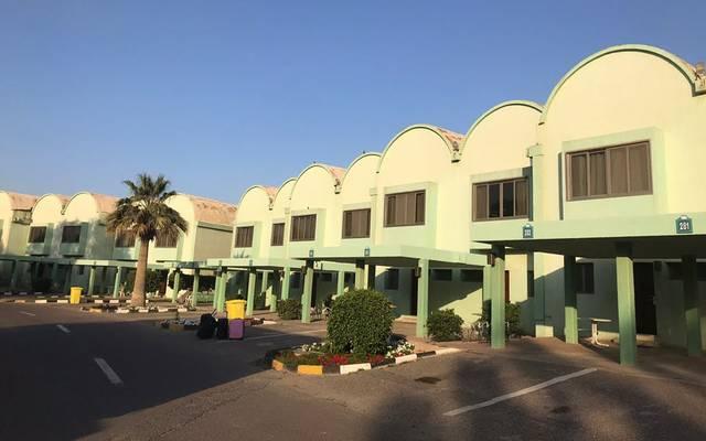 أحد مواقع الحجر الصحي في الكويت