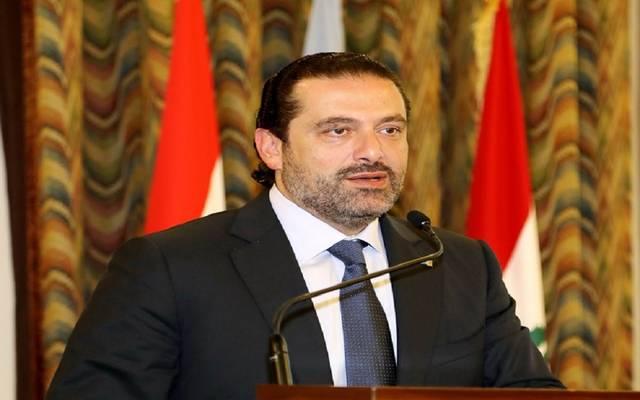 رئيس حكومة تسيير الأعمال في لبنان سعد الحريري