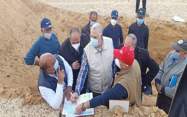 وزير الزراعة يتفقد أراضي التوسع الأفقي بالساحل الشمالي وجنوب الضبعة