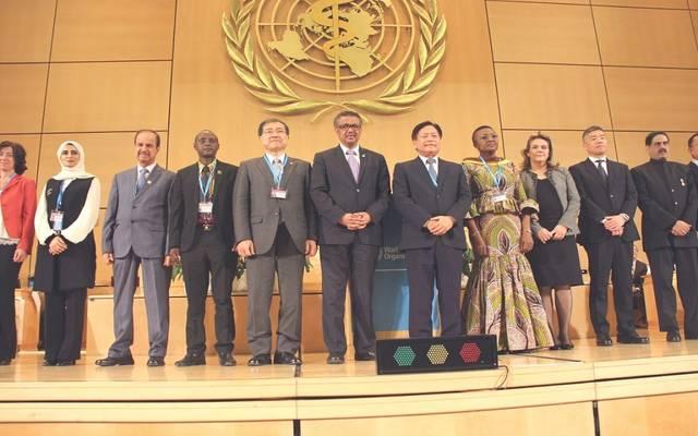 ممثل دولة الإمارات بين أعضاء المجلس التنفيذي للمنظمة العالمية