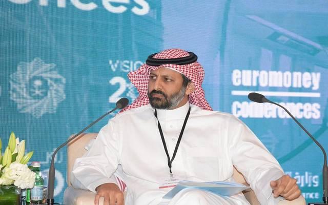 رئيس هيئة السوق المالية محمد بن عبدالله القويز في مؤتمر سابق
