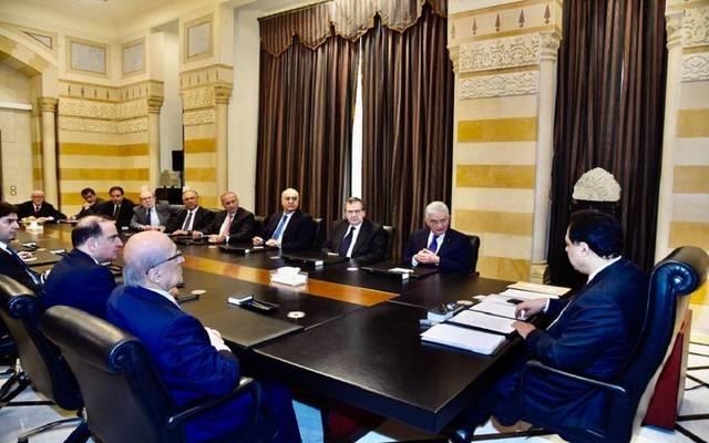 أحد اجتماعات رئيس الوزراء اللبناني - أرشيفية
