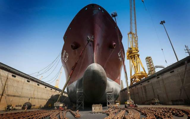 نشاط إصلاح السفن بالشركة