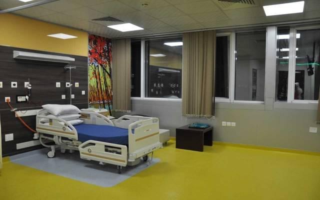 غرفة في أحد المستشفيات السعودية