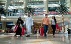 داخل أحد مراكز التسوق في الخليج