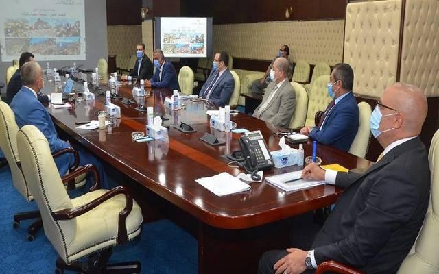 """خلال اجتماع استعراض آليات تنفيذ تكليفات الرئيس السيسي بتطوير مدينة """"سانت كاترين"""""""
