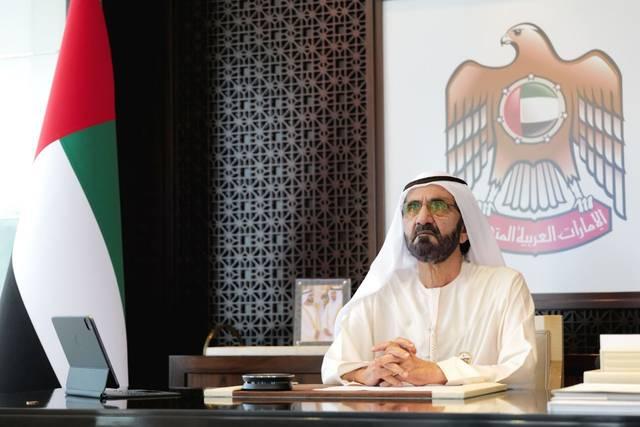 نائب رئيس دولة الإمارات رئيس مجلس الوزراء حاكم دبي الشيخ محمد بن راشد آل مكتوم