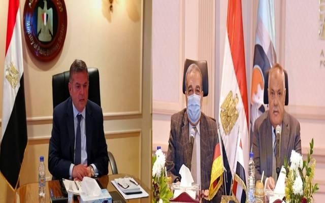 وزراء قطاع الأعمال والإنتاج الحربي ورئيس العربية للتصنيع يناقشون دراسات الجدوى للمصنع
