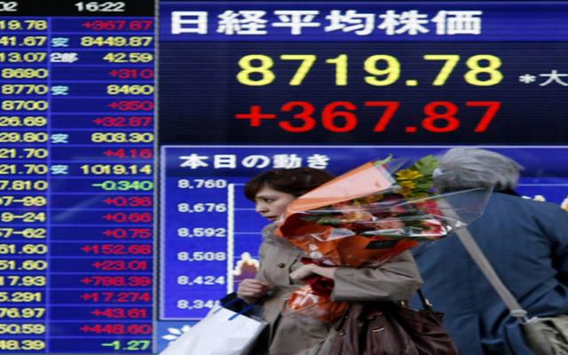 """هبوط """"نيكي"""" الياباني بالختام مع تراجع قطاع البنوك"""