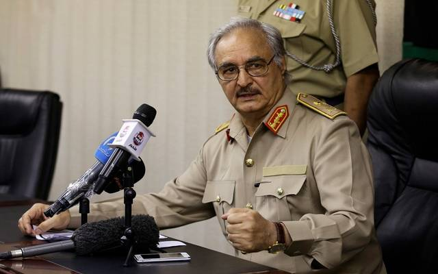 القائد العام للقوات المسلحة الليبية خليفة حفتر