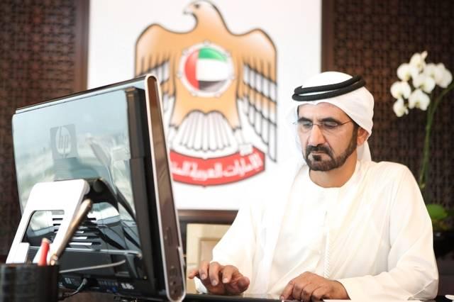 الشيخ محمد بن راشد آل مكتوم نائب رئيس الدولة، رئيس مجلس الوزراء، حاكم دبي