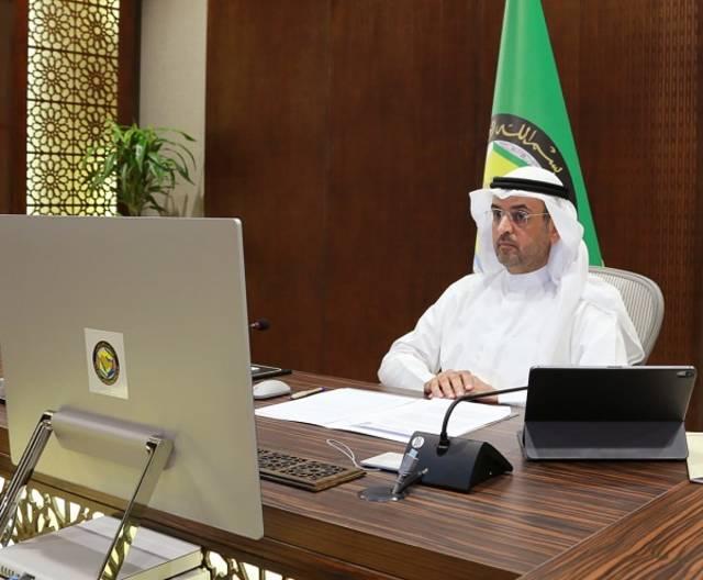 نايف فلاح مبارك الحجرف الأمين العام لمجلس التعاون لدول الخليج العربية