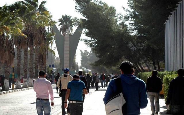 طلاب بإحدى الجامعات الأردنية
