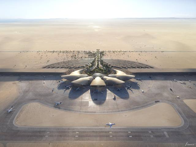 The Red Sea International Airport is set to serve one million passengers annually by 2030.
