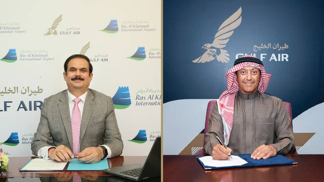 The agreement aims to add Ras Al Khaimah to Gulf Air's network