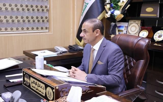 وزير العمل العراقي عادل الركابي في حكومة مصطفى الكاظمي 21 سبتمبر 2020