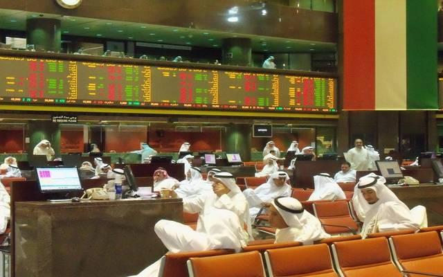 شاشة التداول في أحد أسواق المال  الخليجية