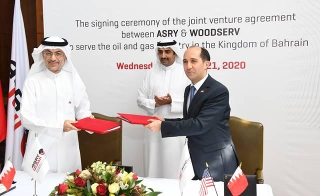 جانب من إعلان اتفاقية التعاون بين الجانبين
