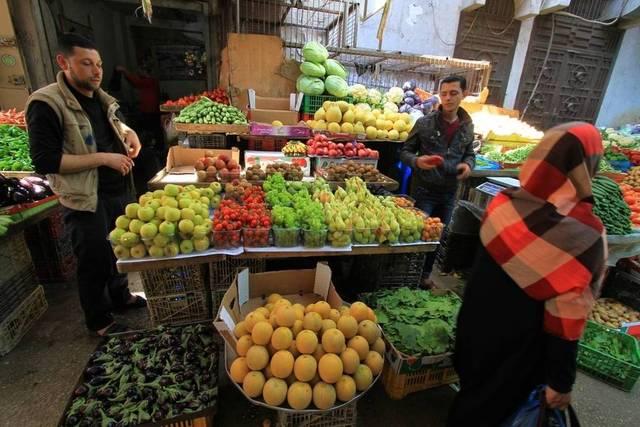 """""""الإحصاء الفلسطيني"""": معدل التضخم ينخفض 0.12% خلال مارس"""