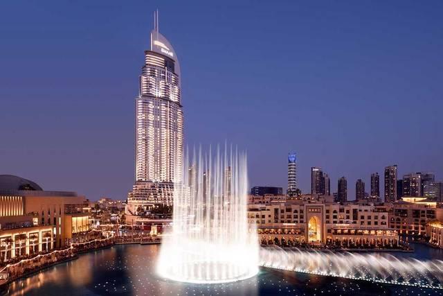 أحد الفنادق المملوكة لشركة إعمار العقارية بإمارة دبي، الصورة أرشيفية