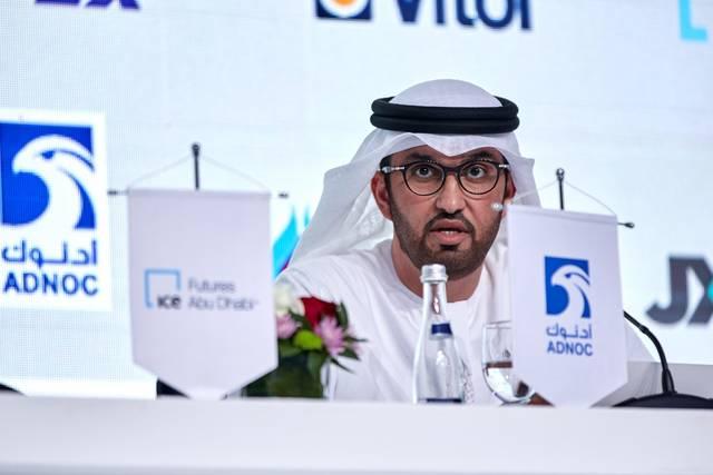سلطان الجابر - وزير دولة والرئيس التنفيذي لشركة بترول أبوظبي الوطنية