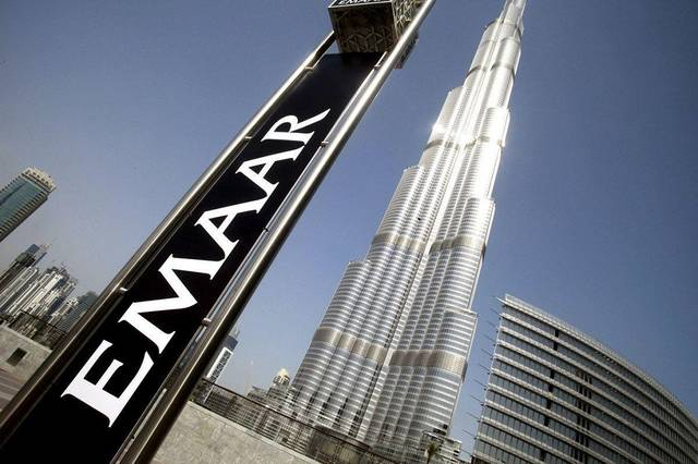 Emaar's earnings per share (EPS) reached AED 0.87 in 2019