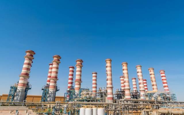 إحدى المحطات التابعة للكهرباء والماء القطرية