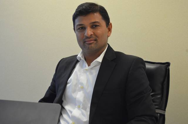 Business head for the Middle East at Tally Solutions, Vikas Panchal