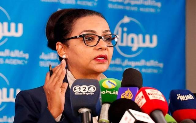 هبة محمد على - وزيرة المالية والتخطيط الاقتصادي المكلفة في السودان