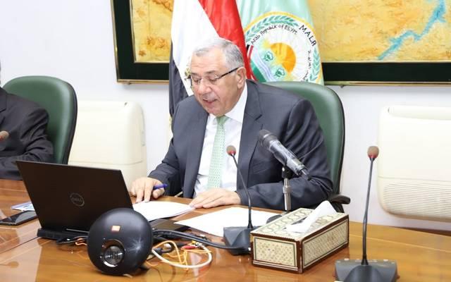 وزير الزراعة يلقي كلمة مصر في الاحتفال باليوم العربي للزراعة
