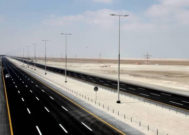 صور.. إنجاز البنية التحتية لمشروع مدينة الرحبة بأبوظبي