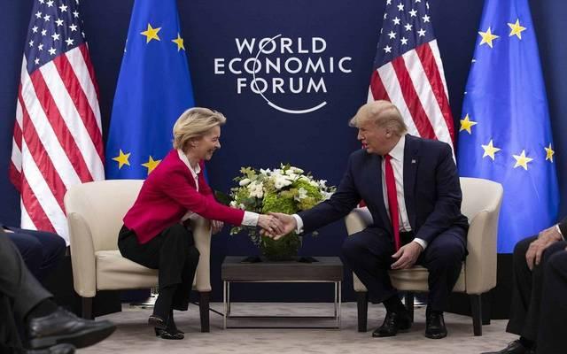 ترامب: أجرينا محادثات تجارية جيدة للغاية مع أوروبا