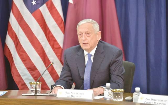 وزير الدفاع بالولايات المتحدة
