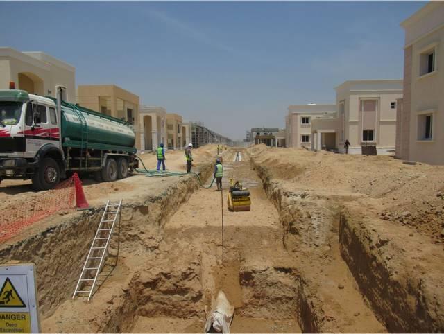 عجمان للصرف الصحي تبدأ مشروع توسعة شبكتها بقيمة 55 مليون درهم