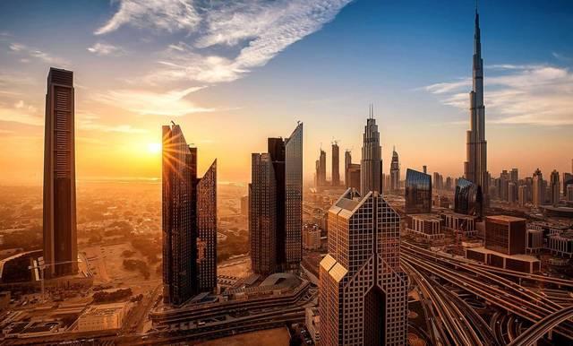 ناطحات السحاب بإمارة دبي