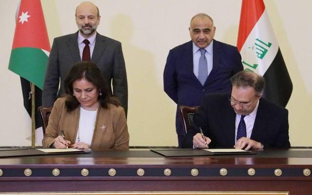 16قراراً لتعزيز التعاون بين الأردن والعراق بمجالات بينها النقل والطاقة