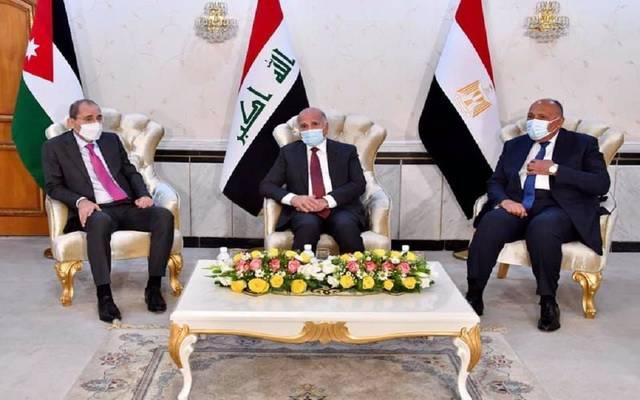 اجتماع بين وزراء خارجية مصر والعراق والأردن للتحضير للقمة  المرتقبة في بغداد ـ أرشيفية