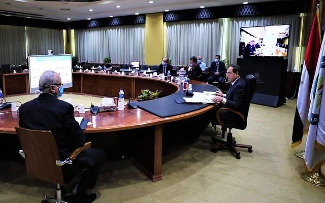 وزير البترول خلال الجمعية العامة لشركة البحرية للخدمات البترولية بالفيديو كونفرانس