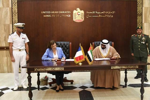 محمد بن أحمد البواردي وزير الدولة لشؤون الدفاع - فلورانسبارلي وزيرة القوات المسلحة الفرنسية