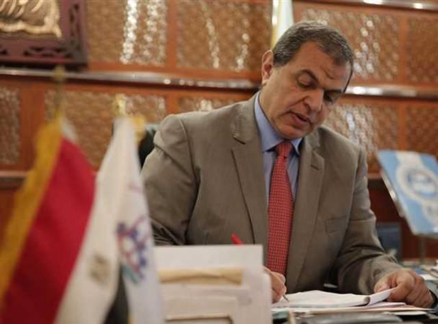 محمد سعفان  وزير القوى العاملة في مصر