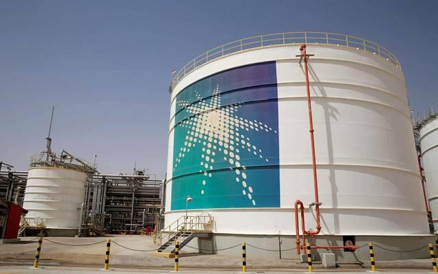 منشأة نفطية تابعة لشركة أرامكو السعودية
